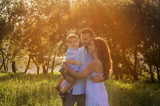 Family in Esterna